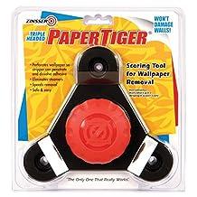 Zinsser 2976 PaperTiger Scoring Tool for Wallpaper Removal Triple Head