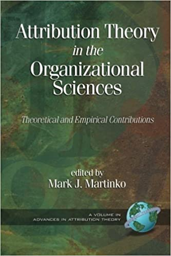 Book Attribution Theory in the Organizational Sciences: Theoretical and Empirical Contributions by Mark J. Martinko (2006-08-01)