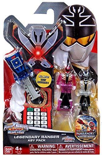 power rangers keys silver - 9