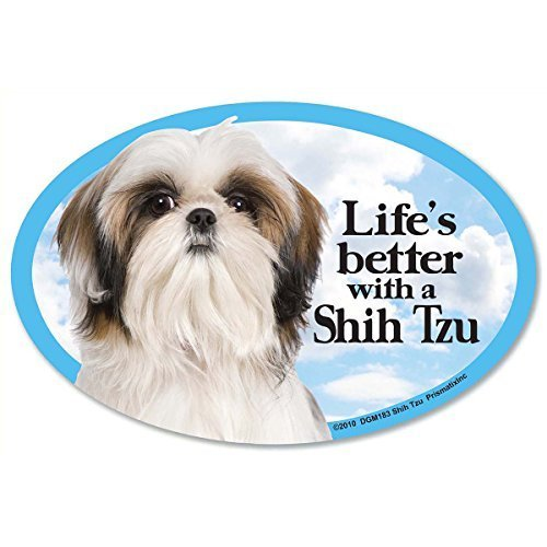- Prismatix Decal Cat and Dog Magnets, Shih Tzu