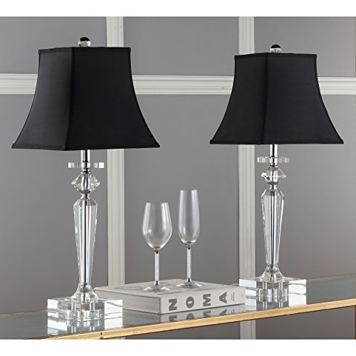 Safavieh Lighting Collection Harlow Crystal 25-inch Table Lamp (Set of - Crystal Harlow