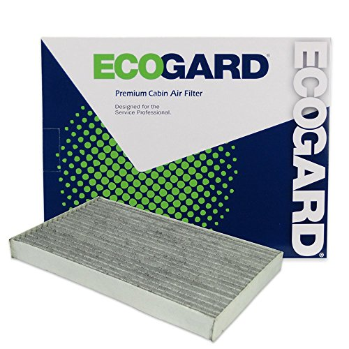 ECOGARD XC25623C Cabin Air Filter with Activated Carbon Odor Eliminator - Premium Replacement Fits Chevrolet Corvette / Cadillac -