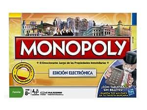 Juegos en familia Hasbro - Monopoly Electronico 00114105