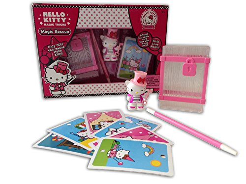 Hello Kitty Magic Safe Trick Set with Wand and Collectible Figurine]()