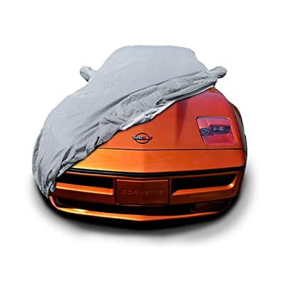 MFK CarsCover Custom Fit C4 1983-1996 Chevy Corvette Car Cover for 5 Layer Heavy Duty Waterproof Ultrashield: Automotive