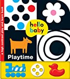 Hello Baby Play and Learn: Playtime: A High-Contrast Board Book