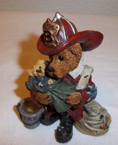 he Hero Fireman Figurine (Boyds Resin Figure)