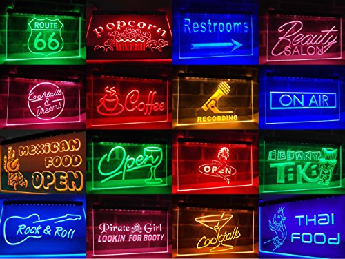 16''x12'' Spa Waxing Neon Sign LED Lights (green) by Way Up Gifts (Image #1)