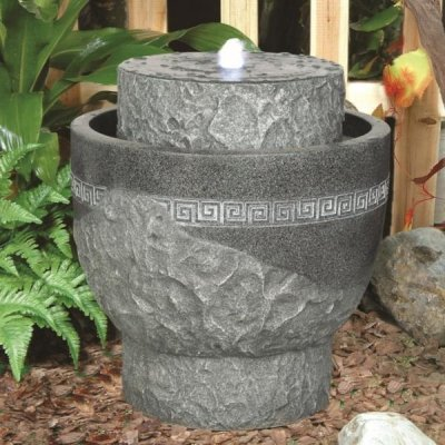 Greek Urn Contemporary Water Feature