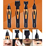 Nose Hair Trimmer kit,4 in 1 Facial Hair Trimmer