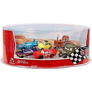 Amazon Com Disney Pixar Cars Figurine Set With Lightning