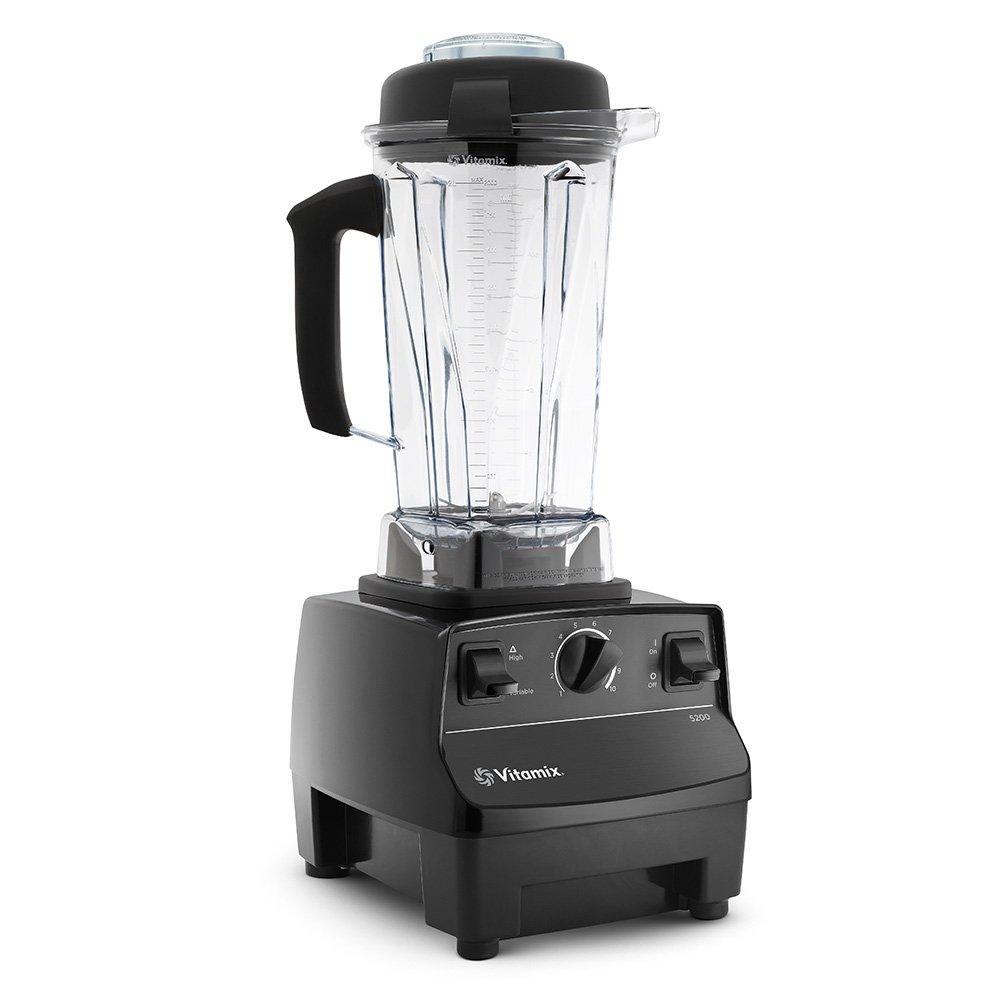 Vitamix Standard Blender, Black (Certified Refurbished)