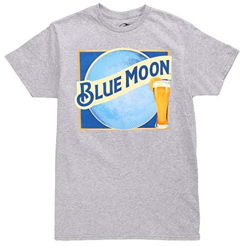 Blue Moon Belgian White Adult T-Shirt - Heather Grey (Large)