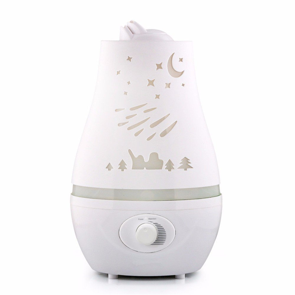DIDIDD Humidifier home mute mini large capacity colorful gradient aromatherapy bedroom mini machine by DIDIDD