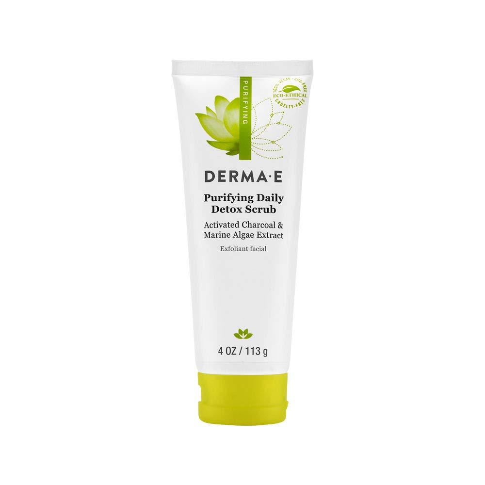 Derma E Scrub Purifying Detox, 4 oz