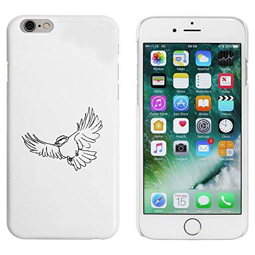 Blanc 'Mésange Bleue en Vol' étui / housse pour iPhone 6 & 6s (MC00032102)