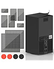 Dust Filter for Xbox Series X, YUANHOT PVC Cooling Fan Grills Cover Dust Mesh Proof Filter Case Compatible with Xbox Series X Console - 2 Pack