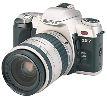 Amazon.com : Pentax ZX-7 Quartz Date 35mm SLR Camera Kit with 35 ...