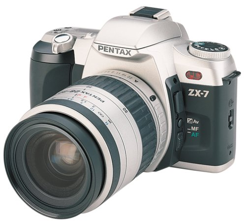 Pentax ZX-7 Quartz Date 35mm SLR Camera Kit with 35-80mm Lens Pentax Compact Cameras