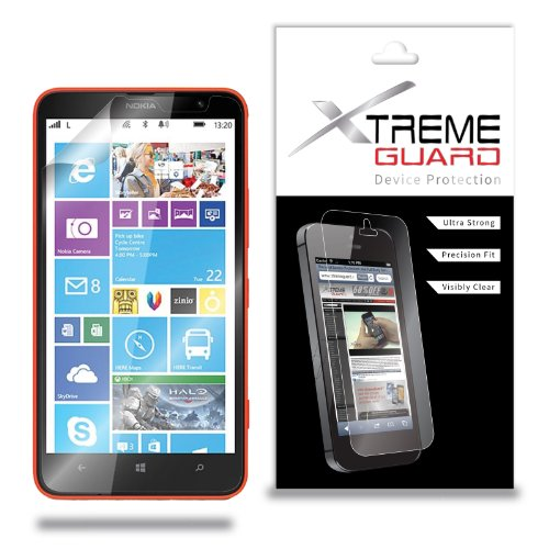 XtremeGuard Screen Protector for Nokia Lumia 1320 (Ultra Clear) (Nokia 1320 Touch Screen)