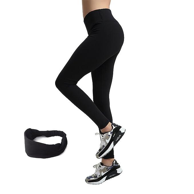 AIYIHAN Mujer Pantalones Yoga Deportes Polainas ...