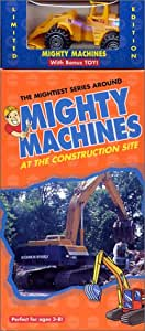 Mighty Machines - At The Construction Site (With Toy) [VHS]