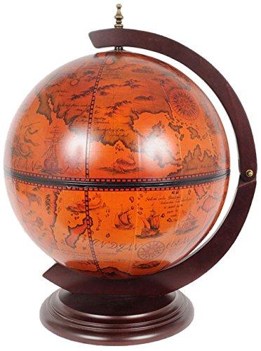 UPC 616983880043, Old Modern Handicrafts Globe Drink Cabinet, 16-Inch