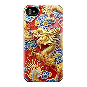 Awesome Chinese Dragon Flip Cases With Fashion Design For Iphone 6