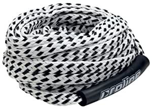 Proline Tube Diameter Tube Tow Rope with Floats, 3/8-Inch