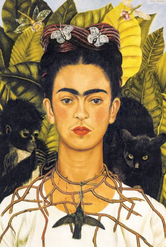 POsters Wholesale FRIDA KAHLO - SELF PORTRAIT - ART POSTER 24x36
