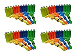 BIRTHDAY GAMES - BACKYARD BIRTHDAY PAINT PARTY PACK - 12 Guns & 48 16oz Bottles Assortment BOYG