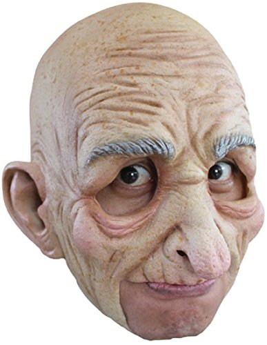 Morris Costumes Old Man Chinless Mask