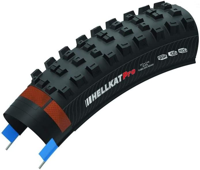 B07F7K4NFG Kenda Honey Badger DH Pro DTC KSCT 120TPI Tire, 27.5inx2.25/2.5, Black 51PFNZcWxuL