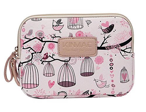 Münzen-Handtasche Schöne Vögel Handy-Beutel