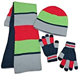 N'Ice Caps Kids Reversible Knitted Hat/Scarf/Magic