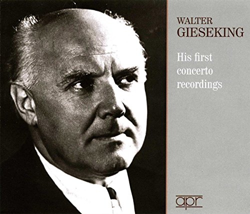 J.s. Bach - Gieseking - His First Concerto Recordings (3 Pack, 3PC)