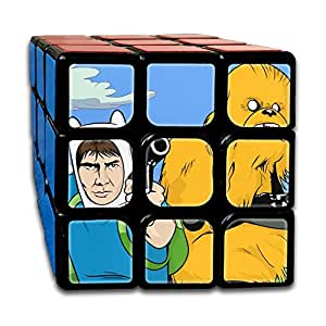 Smooth Sequential Puzzle Toy Aventure Time Speed Cube Standard 3x3 Magic Cube Stickerless Speed, IQ Games Puzzles