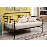 Claremont Metal Daybed In Dark Bronze Finish