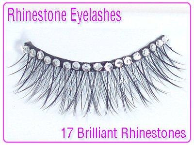 Grl Cosmetics Rhinestone Party Eyelashes (Gems For Grls)