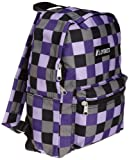 Everest Luggage Multi Pattern Backpack, Purple Bold Plaid, Medium