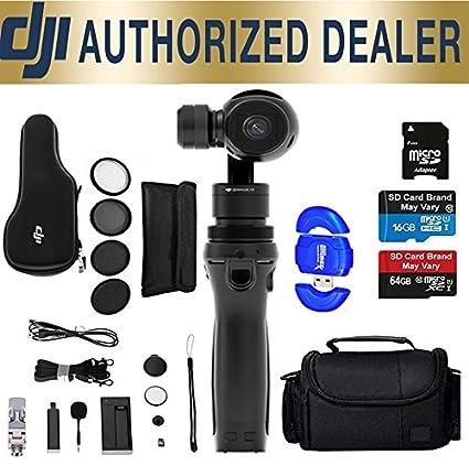 Amazon com : DJI Osmo Handheld 4K Camera and 3-Axis Gimbal