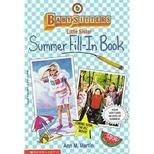 Summer Fill-In Book