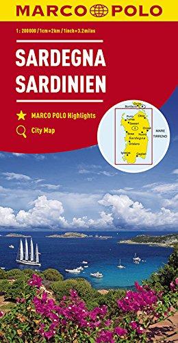 MARCO POLO Karte Italien Blatt 15 Sardinien 1:200 000 (MARCO POLO Karten 1:200.000)