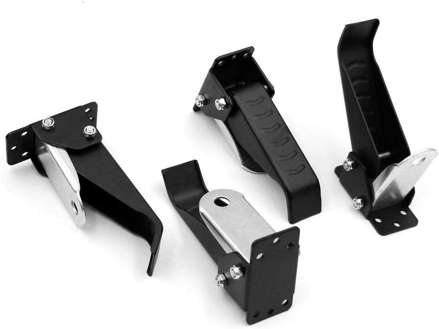 KKmoon Ruedas m/óviles de aleaci/ón de aluminio Ruedas de banco de trabajo Maniobrabilidad de 360 grados Herramientas de bricolaje para trabajar la madera