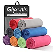 Glymnis Mikrofaser Handtücher schnelltrocknend Sporthandtuch Strandhandtuch Viele Größen und Farben saugfähig weich für…