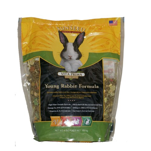 Sun Seed Rabbit (Young) Vita Plus 4 Lb