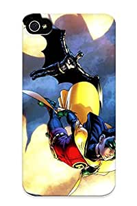 New Style Runandjump Batman And Robin Together Again For The First Time Damian Wayne Premium Tpu Cover Case For Iphone 4/4s