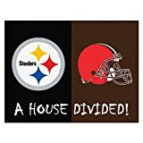 FANMATS NFL House Divided Nylon Face House Divided