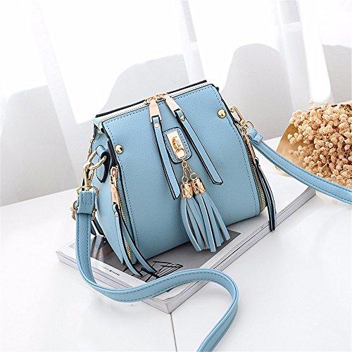 MSZYZ unique Blue Sac sac Cadeaux pente la bandoulière à bordée Fashion de rqrvawnP