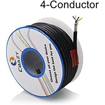 Amazon.com: 25 feet Shielded Single Conductor Wire: Musical ...